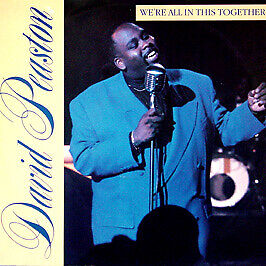 David Peaston - We'Re All In This Together - Geffen - 1989 #54570