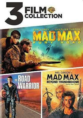 MAD MAX FURY ROAD + ROAD WARRIOR + BEYOUND THUNDERDOME DVD 3 Film Collection