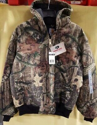 e454573ceb476 CARHARTT Mens Quilt Flannel Lined Active Jacket J221 Camo NWT multiple sizes