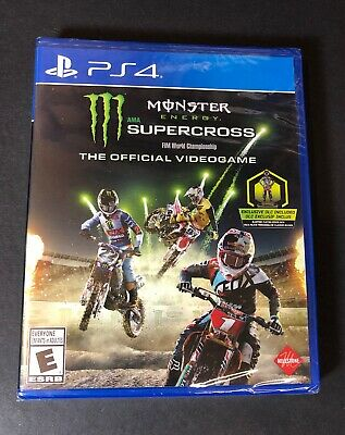 Monster Energy Supercross [ The Official Videogame ] (PS4) NEW