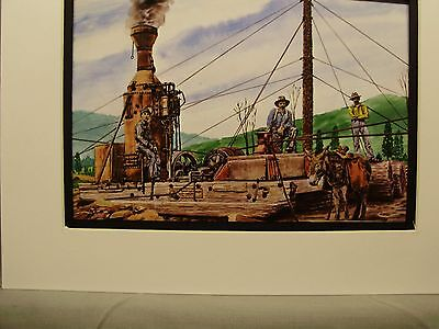 LOGGING STEAM DONKEY ENGINE Built and Well detailed S Scale Model