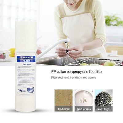 10 Inch 5-Micron Sediment PP Cotton Filter System For Water Purifier Quality