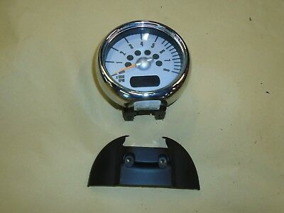 Bmw Mini Cooper S One D 1.6 2004 R50 R52 R53 Rev Revolution Counter & Surround