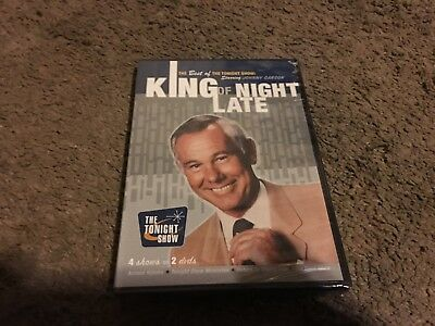 King Of Late Night, The Tonight Show, Johnny Carson, Dvd, 2-Discs, New