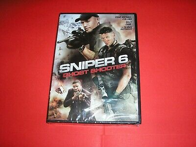 """DVD neuf,""""SNIPER 6,GHOST SHOOTER"""",billy zane,chad michael collins,etc"""