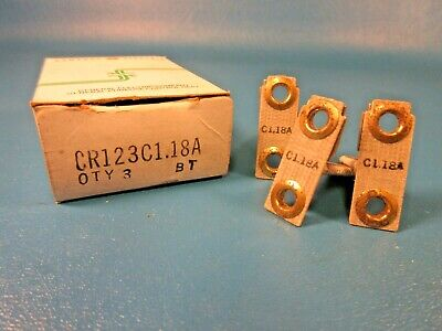 .. VM-34 Box of 3 GE Thermal Overload Heating Element Cat# CR123C118A NIB .
