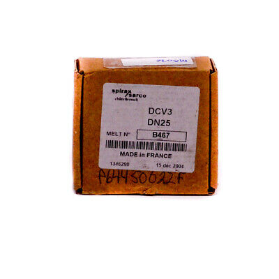SPIRAX SARCO DCV3-DN25 Check Valve Disk Assembly New in Box