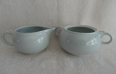 LuRay TS&T - Creamer  & Sugar  -  CHATHAM GRAY -  PERFECT