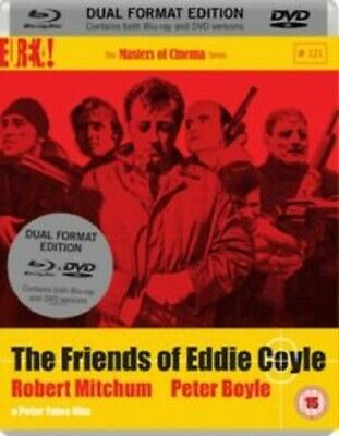The Friends Of Eddie Coyle Blu-Ray And DVD UK Region B Locked Brand New Sealed
