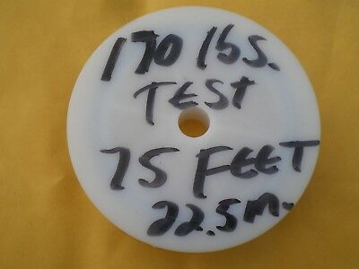 22.5m 30 lbs TEST 1X7 STRAND+SLEEVES STAINLESS STEEL CLEAR WIRE LEADER 75 FEET