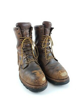 105585e8e76c RED WING 4420 Brown Steel Toe Logger Work Boots Size 10 D -  78.00 ...