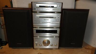 TECHNICS HD51 COMPONENT STEREO SYSTEM WITH REMOTE-Superb Sound.
