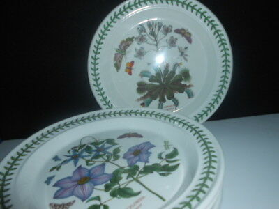 Portmeirion Botanic Garden  - Large Dinner Plate ( X 6 ) / Never Used ( 10'' )