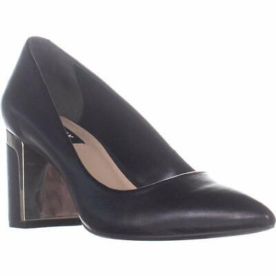 52bd685e688d COACH WOMENS BEADCHAIN pump Leather Pointed Toe Classic