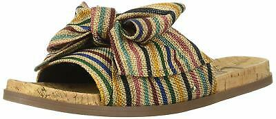 ab9cc0371 Circus by Sam Edelman Womens ninette Fabric Open Toe Casual Slide Sandals