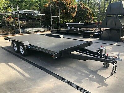 16x6'6 TANDEM AXLE CAR TRAILER | 3200kg GVM | HEAVY DUTY | RAMPS INCLUDED