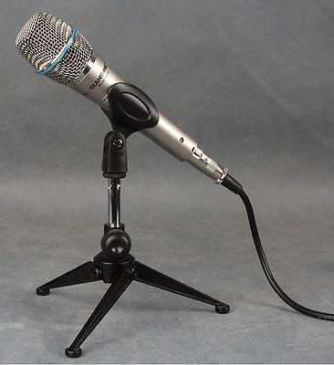 Metal Adjustable Mini Mic Stand for Shure SM57 SM58 Beta 58A Microphone Stand
