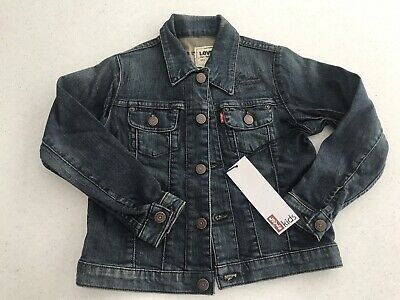 Bnwt Unisex Boy Girl Levis Denim Jacket - Size 6 - Bargain!