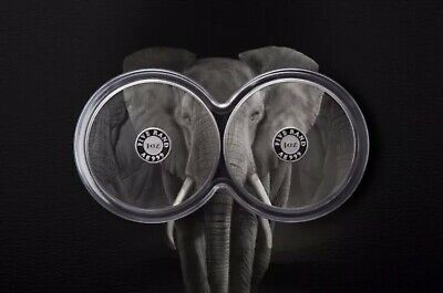 2019 1 Oz South Africa Big Five Elephant .999 Silver Proof 2 Coin Set