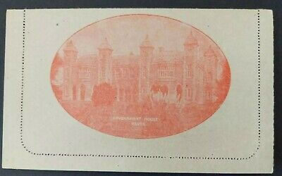 LC 49 Commonwealth Of Australia Lettercard Government House Perth KGV 2d