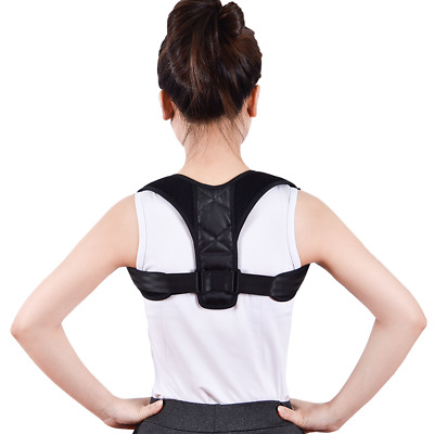 New Body Wellness Posture Corrector Adjustable Orthotics Braces Belt Unisex v3c