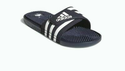 aa9b75c8f Adidas ADISSAGE Navy Slippers Slides Flip-Flops Shower Shoes Men s Size 7