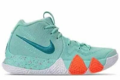premium selection 323c6 28ee9 NIKE KYRIE 4 Power Is Female Light Aqua Turquoise Basketball Irving  943806-402