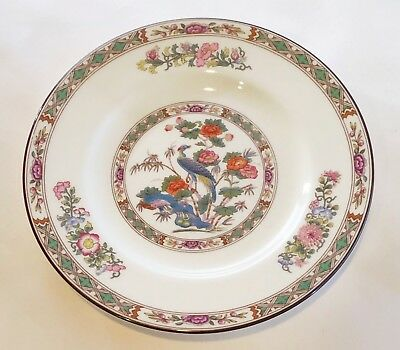 "Wedgwood Kutani Crane Bread and Butter Plate 6"" Discontinued 1971-1998"