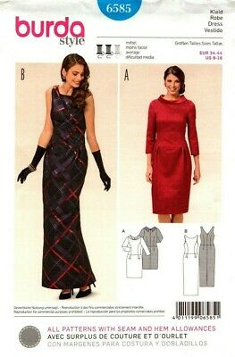 27d59e9150d9 BURDA SEWING PATTERN 6408 Style Jumpsuit Size US 6-16 EUR 32-42 ...