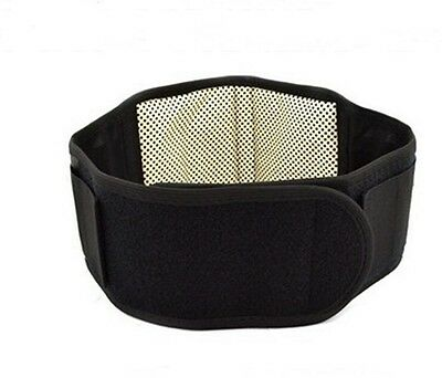 Magnetic Therapy Lumbar Waist Support Lower Back Brace Belt Strap MN