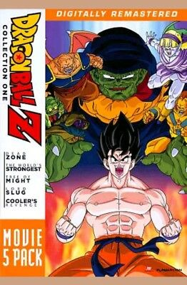 Dragon Ball Z Dragonball Z Movie Pack Collection 1 One Movies 1-5 FAST SHIPPING!