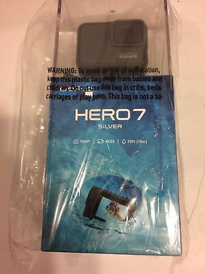 Brand New Gopro Hero 7 Silver 4K30 10Mp Action Camera - Free Shipping