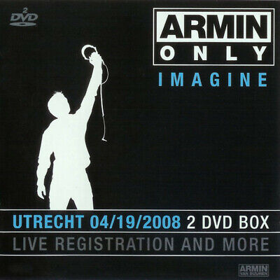 Armin Only Imagine Utrecht 2008 2 DVD