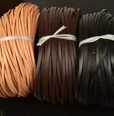 New 100% Real Flat Nappa Leather Cord  String Necklace Bracelet DIY String Cord