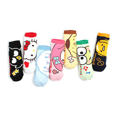 280054bca Ladies pink white Hello Kitty Socks Kawaii Harajuku Emo Pastel Goth Sz  22-24 Cm.