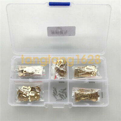 100pcs Car Lock Reed Lock Plate  Lock Repair Accessories Tool for Mercedes Benz
