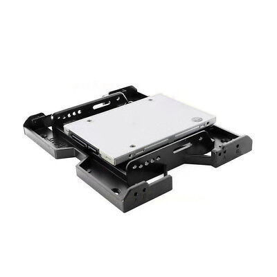 """5.25"""" to 3.5"""" 2.5"""" SSD HDD Tray Caddy Case Adapter for PC Case Cooling Fans"""
