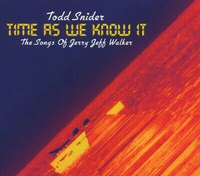Todd Snider - Time As We Know It/Jerry Jeff Walker CD Aimless NEW