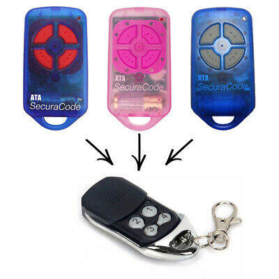ATA Garage/Gate Door Remote Control PTX-4 Replacement Securacode PTX4 NEW