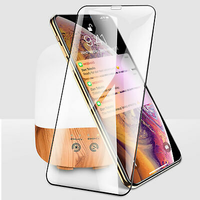 10D Full Cover Curved Tempered Glass Screen Protector Film For iPhone X 7 8 Plus