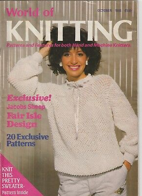 Machine Knit Book - World of Knitting