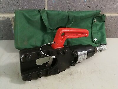 Izumi 12 Tonne 700 BAR Hydraulic Cable Cutter Head SP-55A With Soft Case *