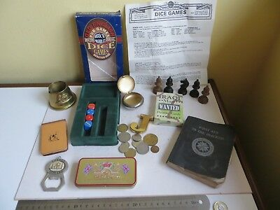 Job Lot Vintage Antique Items Curio Collectables trench art coins Odd Bit & Bobs