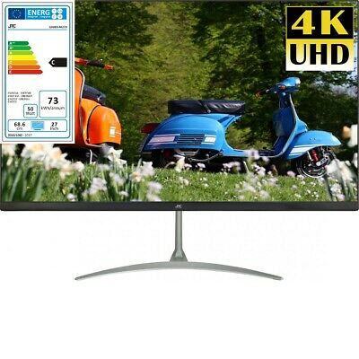 Jay-tech 27 Zoll 4K UHD Monitor M270 Bildschirm Ultra HD LED Backlight 16:9