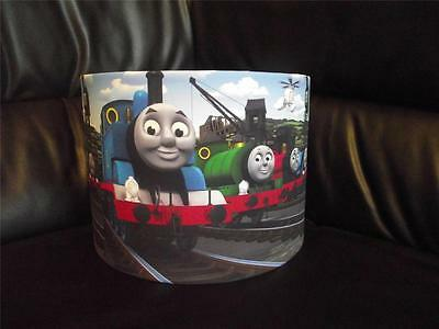 "Thomas The Tank Engine And Friends 10"" Drum Ceiling Lampshade Lightshade"