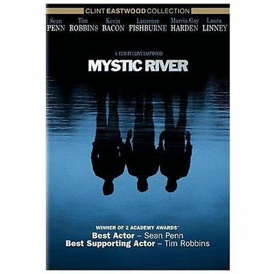 Mystic River DVD Movie by Dennis Lehane Sean Penn Tim Robbins FREE SHIPPING