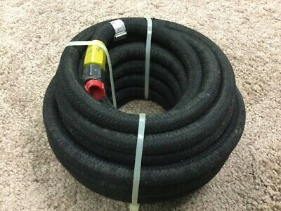 "1/4"" Military Generator Braided Auxilary Fuel Line Hose MEP-802 MEP-803 MEP-804"