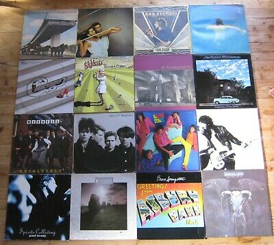 Job Lot 50 x Vinyl record Lp's pop/rock U2 ,Rolling stones , Madonna Genesis etc