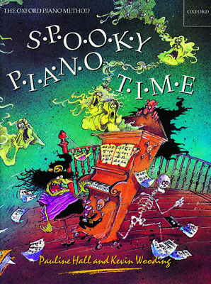 Spooky Piano Time, Paperback; Hall, Pauline; Wooding, Kevin.; Easy piano solo.