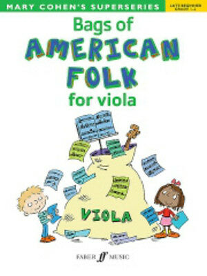 Mary Cohen: Bags Of American Folk For Viola Viola Sheet Music Instrumental Album